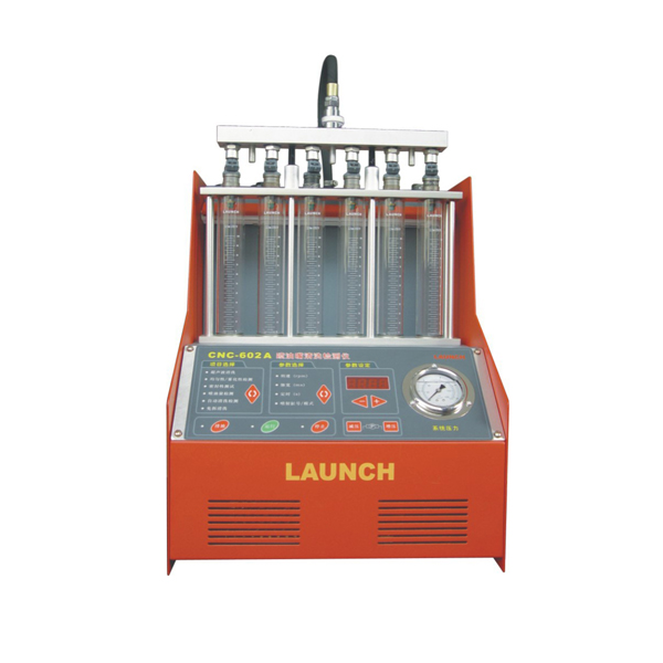 Launch cnc 602a injector cleaner tester carman sctan for Mercedes benz fuel injector cleaner